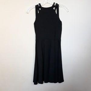 Susana Monaco | Strappy Black Bodycon Dress XS